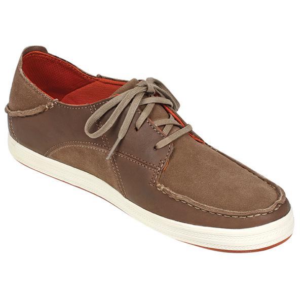 Olukai Men's Pahono Lace Shoes Brown