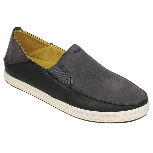 Olukai Men's Pahono Slip-On Shoes Gray