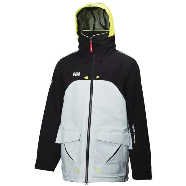 Helly Hansen Men's Crew Coastal Jacket 2 Silver/white Sale $260.00 SKU: 15952831 ID# 30328-243-M UPC# 7040054300421 :