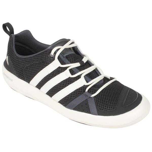 Adidas Men's Climacool Boat Lace Shoe Black/white/grey