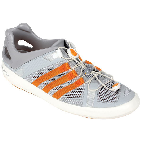 Adidas Men's Boat Breeze Shoes Clear/orange/gray