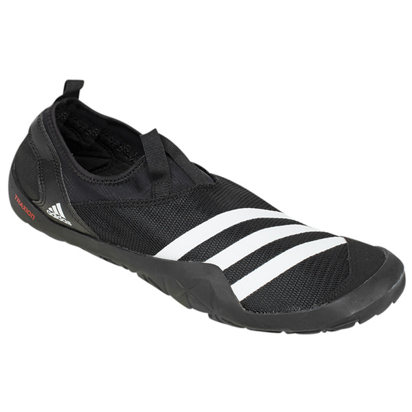 Adidas Men's Jawpaw Shoes Black/white/silver Sale $60.00 SKU: 15955107 ID# M29553-5013-22 UPC# 888593213416 :