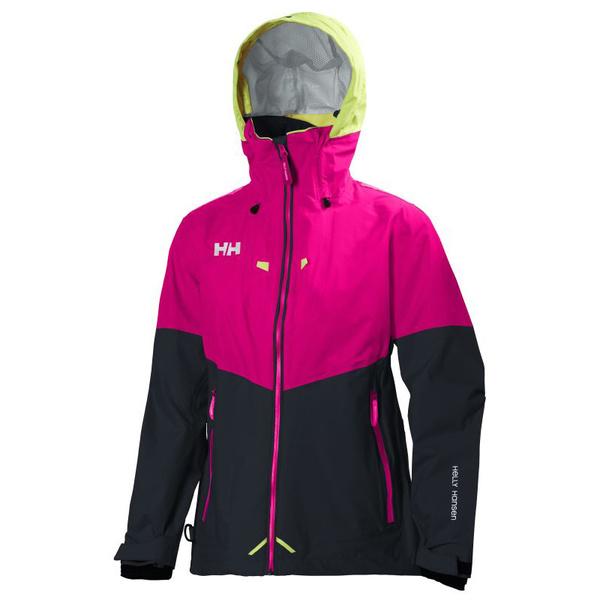 Helly Hansen Women's Crew Coastal Jacket Magenta Sale $260.00 SKU: 15960339 ID# 30296-145-S UPC# 7040054198486 :