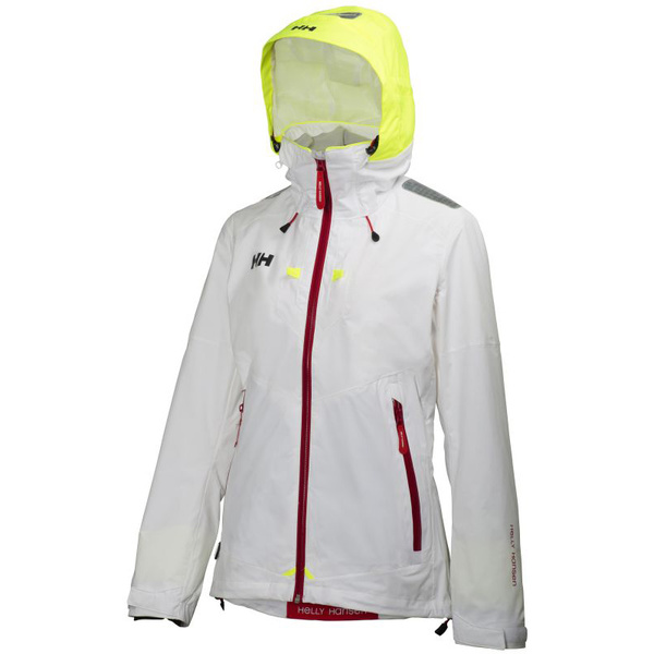 Helly Hansen Women's Crew Coastal Jacket White Sale $260.00 SKU: 15960404 ID# 30296-001-XL UPC# 7040054198516 :