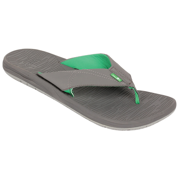 Sanuk Men's Latitude Flip-Flop Gray