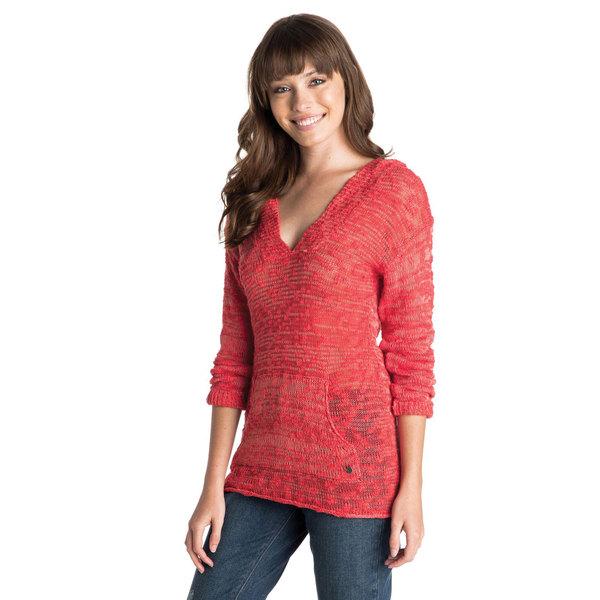 Roxy Women's Warm Heart Sweater Bittersweet