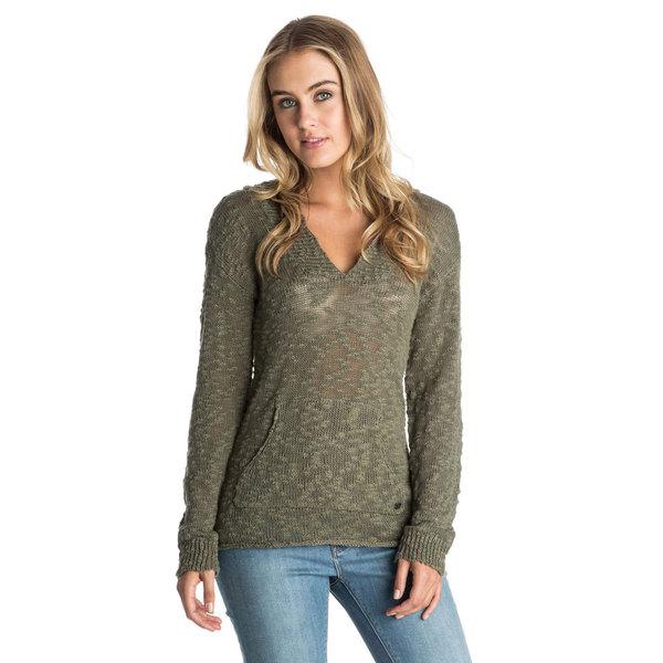 Roxy Women's Warm Heart Sweater Dusty Olive