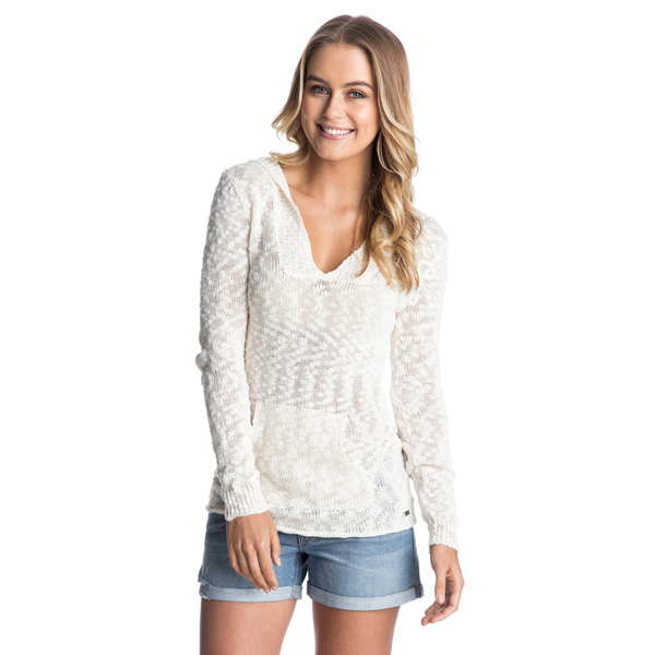 Roxy Women's Warm Heart Sweater Blue