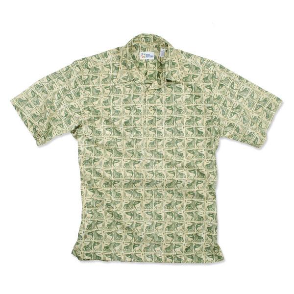 Reyn Spooner Men's Marlin Kapala Woven Shirt Green