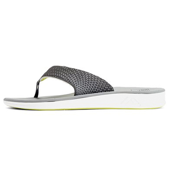 Reef Runner Men's Rover Flip-Flops Gray/yellow