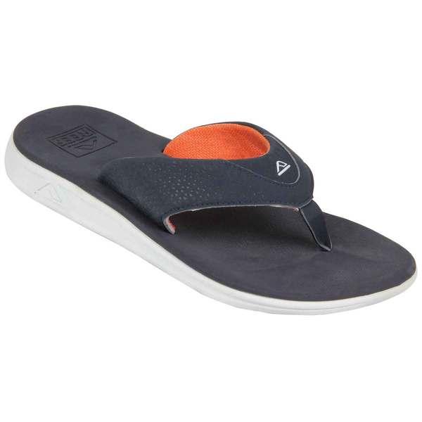 Reef Men's Rover Flip-Flops Navy/orange Sale $45.00 SKU: 16570525 ID# RF002295NOR--10 :