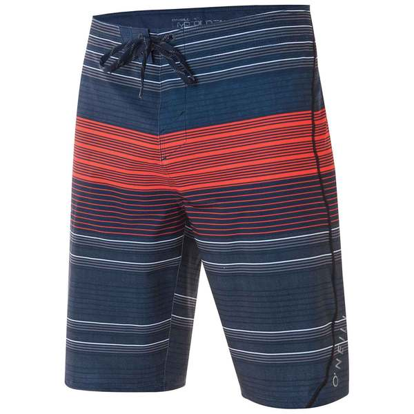 O'neill Men's Stripe Freak Boardshorts Navy