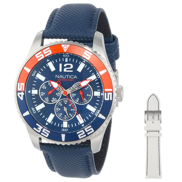 Nautica NST 07 Multifunction Watch Box Set Sale $135.00 SKU: 16010449 ID# N13663G UPC# 656086062847 :