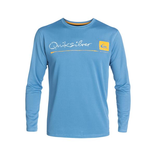 Quiksilver Men's La Costa Long-Sleeve Surf Shirt Navy