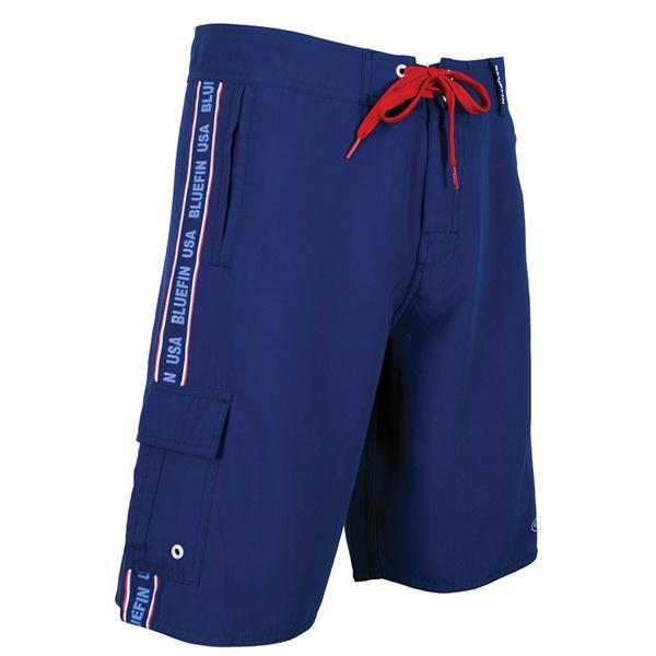 Bluefin Men's Cargo Boardshorts Navy Sale $59.00 SKU: 16161747 ID# SHCARGO-NY-36 UPC# 616932966101 :