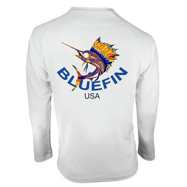 Bluefin Men's Bluetex Performance Sail Tee White