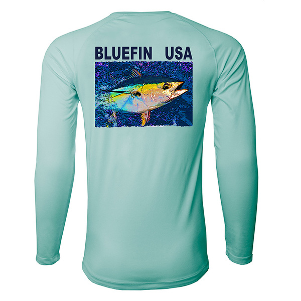 Bluefin Men's Second Skin Rashguard Tee Blue