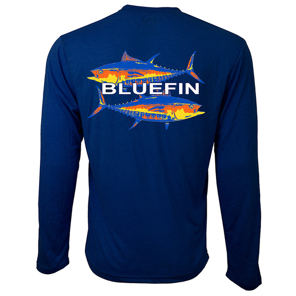 Bluefin Men's Tuna Technical Tee Navy