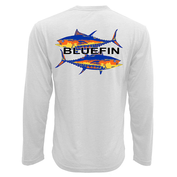 Bluefin Men's Tuna Technical Tee White
