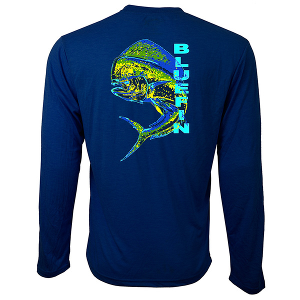 Bluefin Men's Dolphin Technical Tee Navy
