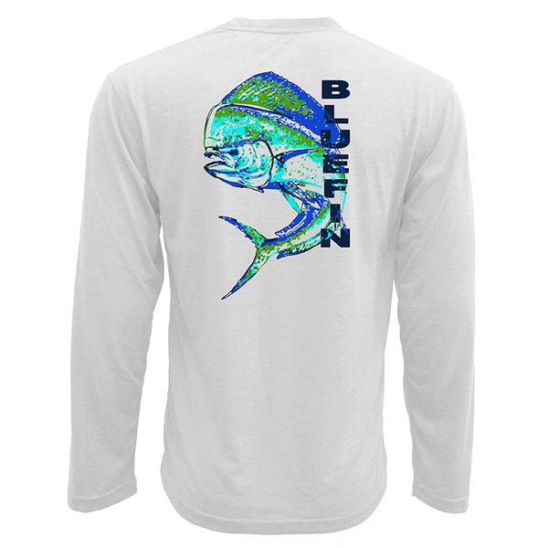 Bluefin Men's Dolphin Technical Tee White