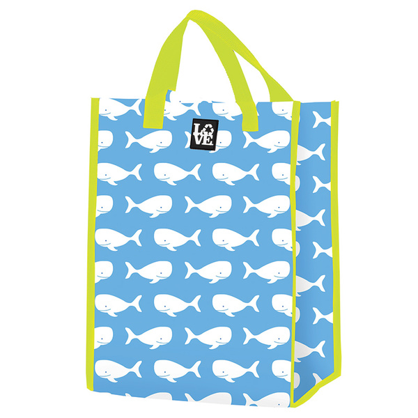 Love Reusable Bags Grocery Tote Blue