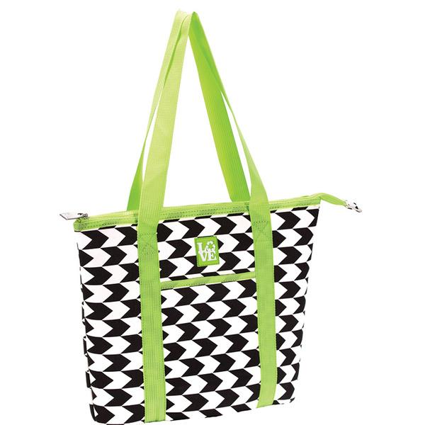 Love Reusable Bags Beach Bag Black/white