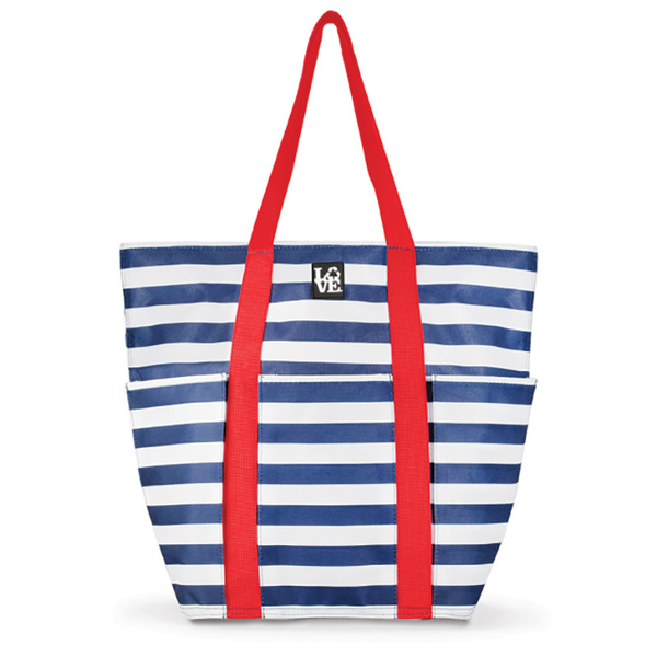 Love Bags Style Tote Navy/white