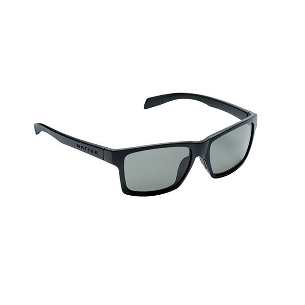 Native Eyewear Flatiron Polarized Sunglasses Asphalt Frames with Grey Lenses Gray Sale $109.00 SKU: 16273963 ID# 172 302 523 UPC# 764824014246 :