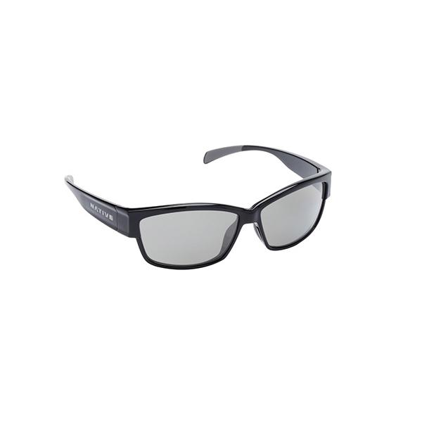 Native Eyewear Toolah Polarized Sunglasses Grey Frames with Iron Lenses Gray Sale $109.00 SKU: 16274011 ID# 174 300 523 UPC# 764824014390 :
