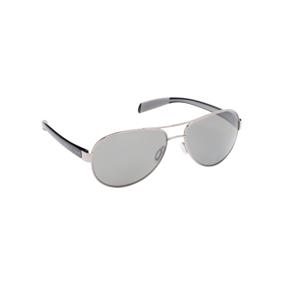 Native Eyewear Patroller Polarized Sunglasses Gunmetal/Iron Frames with Grey Lenses Gray