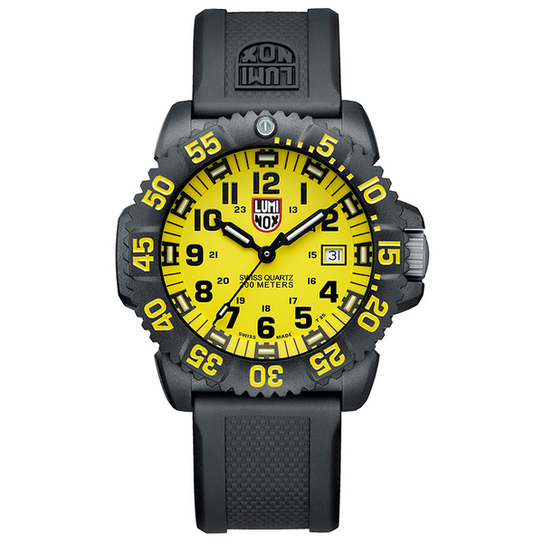 Luminox Navy SEAL Colormark 3055.LM Watch Yellow