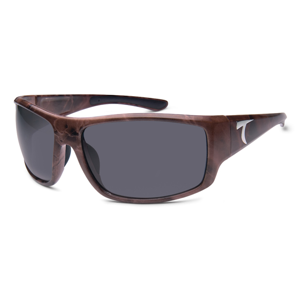 Typhoon Optics Cedros Island Sunglasses, Brown Marble Frames with Brown Lenses
