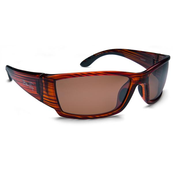 Blacktip Megladon Sunglasses, Brown Frames with Brown Lenses Mahogany/brown
