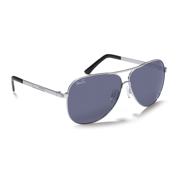 Blacktip Caetus Sunglasses, Matte Gray Frames with Gray Lenses Gray