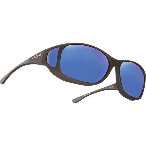 Cocoons Style Line MX Polarized Sunglasses, Black Frames with Black/blue Mirror Mirror Lenses Sale $49.99 SKU: 16283657 ID# C702M UPC# 814484014480 :