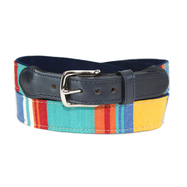 Leather Man Men's Squad Water Polo Belt Multi
