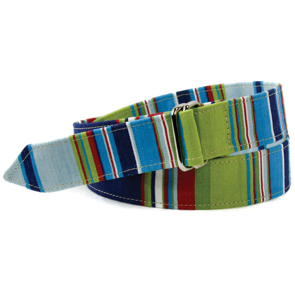 Leather Man Men's Squad Water Polo Strap Belt Multi