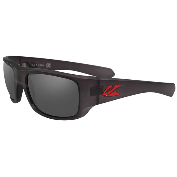 Kaenon Pintail G12 Sunglasses Graphite/Red Frames with Gray Lenses Gray