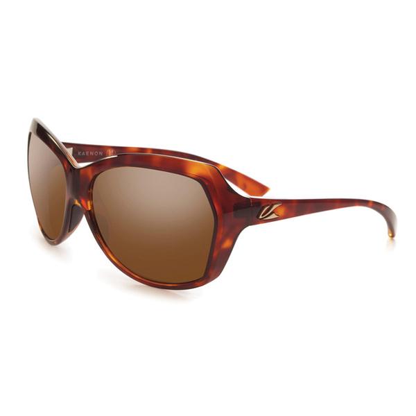 Kaenon Polarized Shilo B12 Sunglasses Tortoise Brown Frame with Brown Lenses