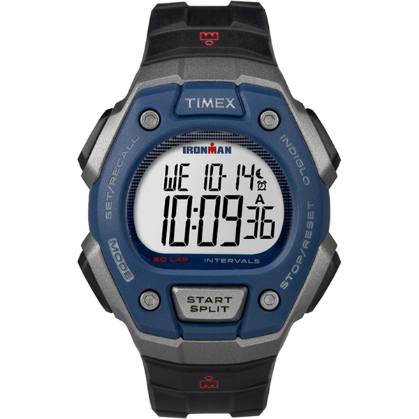 Timex Ironman Classic 50 Watch Black/blue