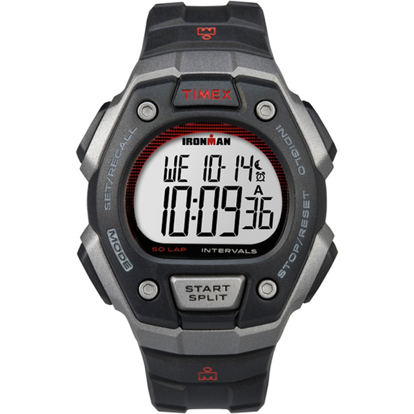 Timex Ironman Classic 50 Watch Red/silver