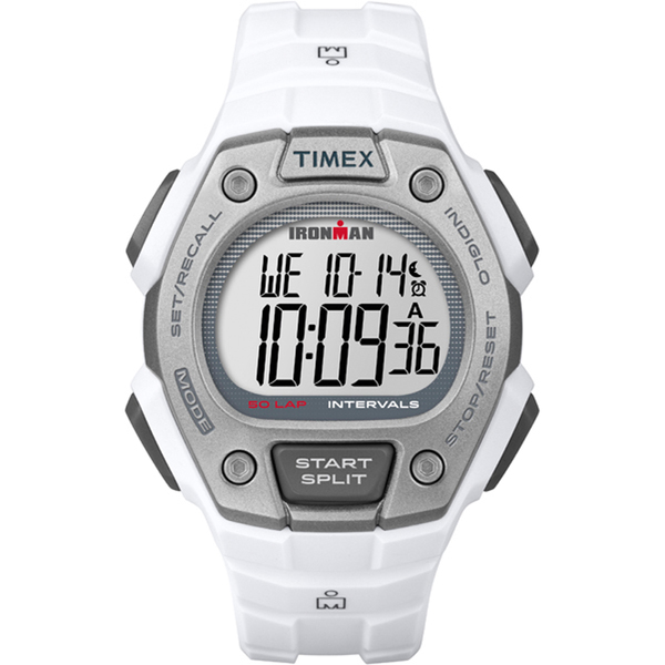 Timex Ironman Classic 50 Watch White/silver