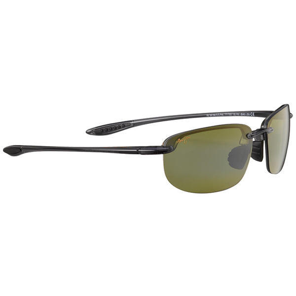 Maui Jim Ho'okipa Universal Polarized Sunglasses Smoke Grey Frames with Maui HT Lenses Gray