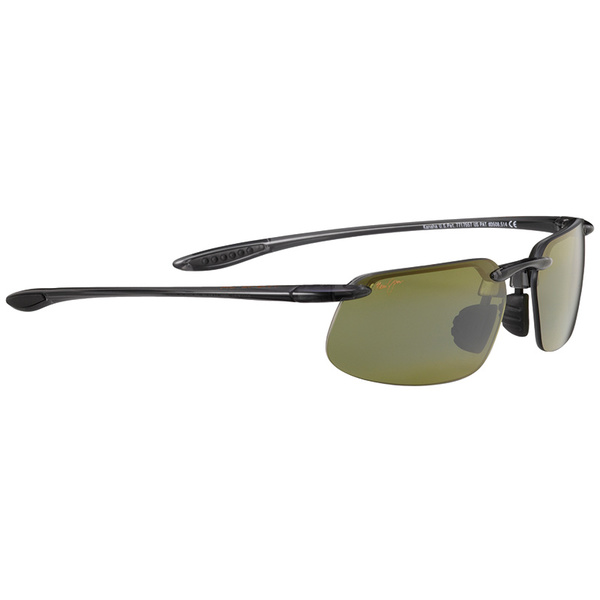 Maui Jim Kanaha Universal Polarized Sunglasses, Smoke Gray Frames with Maui HT Lenses