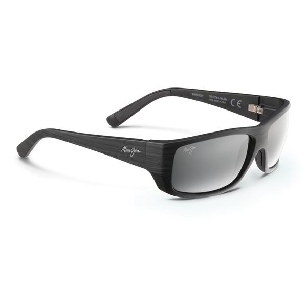 Maui Jim Wassup Sunglasses Matte Black Frames with Neutral Grey Lenses Sale $259.00 SKU: 16291833 ID# 123-02W UPC# 603429030612 :