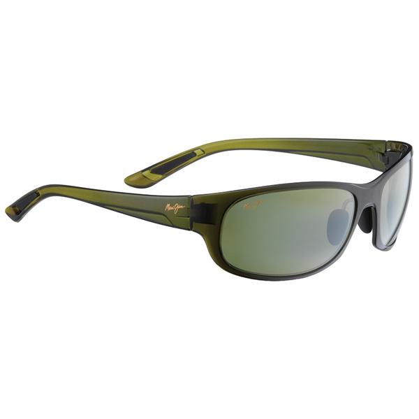 Maui Jim Twin Falls Polarized Sunglasses, Olive Maui Frames with HT Olive Fade Lenses Sale $229.00 SKU: 16291866 ID# HT417-15F UPC# 603429029722 :