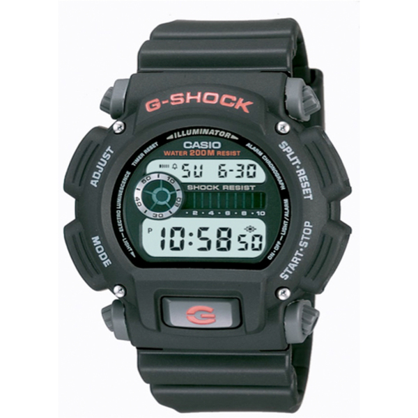Casio Illuminator G-Shock Watch Black/gray