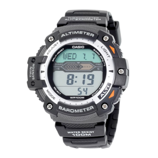 Casio Sport Gear Twin Sensor Watch Black