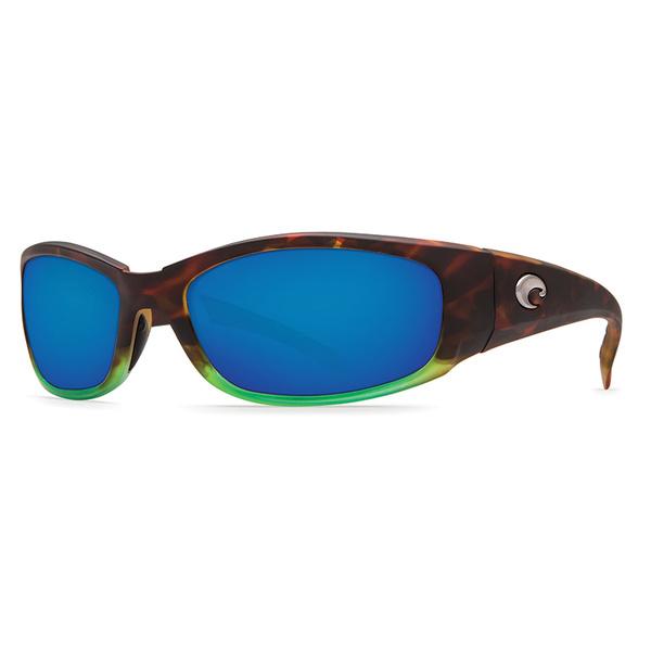 Costa Hammerhead Sunglasses, Matte Tortuga Frames with Blue Mirror 580P Lenses Sale $189.00 SKU: 16302218 ID# HH 77 OBMP UPC# 97963524780 :